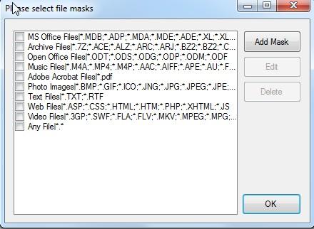 duplicate files deleter options